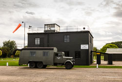 RAF Crewbus at Night Shoot, Lincolnshire Aviation Heritage Centre, East Kirkby, Lincolnshire, September 2018. Photo: Neil Houltby