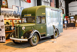 Mobile NAAFI Vehicle at Night Shoot, Lincolnshire Aviation Heritage Centre, East Kirkby, Lincolnshire, September 2018. Photo: Neil Houltby