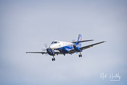 Eastern Airways British Aerospace Jetstream 41 at RAF Coningsby,  Lincolnshire, February 2019. Photo: Neil Houltby