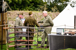 Home Front at WWII Reenactment, Ramsey 1940's Weekend, Ramsey, Cambridgeshire, August 2018. Photo: Neil Houltby