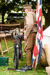 First Aid Nursing Yeomanry at WWII Reenactment, Ramsey 1940's Weekend, Ramsey, Cambridgeshire, August 2018. Photo: Neil Houltby