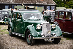 1940's Car at WWII Reenactment, Ramsey 1940's Weekend, Ramsey, Cambridgeshire, August 2018. Photo: Neil Houltby