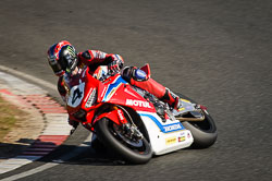 Ian Hutchinson and  at EMRA, Mallory Park, Leicestershire, May 2018. Photo: Neil Houltby