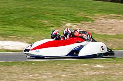 Carl Parkinson & Darren Tritton, MRO, Cadwell Park, 2011