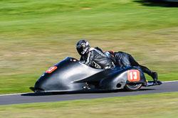 Marc Fagan & julie Canipa, F2 Sidecars, Derby Phoenix, Cadwell Park, September 2011