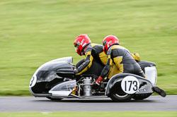 David Crawford & David Baxtor, Classic Sidecars, CRMC, Cadwell Park
