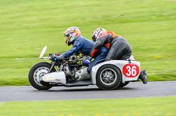Chris Adams & Bruce Pope, Classic Sidecars, CRMC, Cadwell Park