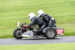 Reg Charlesworth & Kerry Charlesworth, Classic Sidecars, CRMC, Cadwell Park