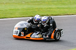 Grant Tapsell & Ian Tapsell, Classic Sidecars, CRMC, Cadwell Park