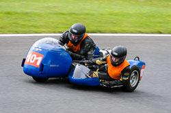 Rodney Blakeley & Belinda Colston, Classic Sidecars, CRMC, Cadwell Park