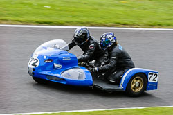 Ian Champ & Delia Bufton, Classic Sidecars, CRMC, Cadwell Park
