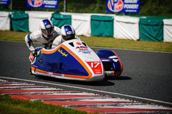 Lee Crawford and Scott Hardie at EMRA, Mallory Park, Leicestershire, May 2018. Photo: Neil Houltby
