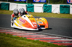 Steve Ramsden and Matty Ramsden at EMRA, Mallory Park, Leicestershire, May 2018. Photo: Neil Houltby
