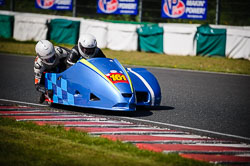Paul Downes and David Hainsworth at EMRA, Mallory Park, Leicestershire, May 2018. Photo: Neil Houltby