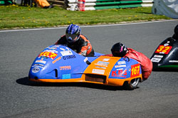 Wesley Pettman and Sue Taylor at EMRA, Mallory Park, Leicestershire, May 2018. Photo: Neil Houltby