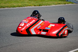Howard Baker and Mike Killingsworth at EMRA, Mallory Park, Leicestershire, May 2018. Photo: Neil Houltby