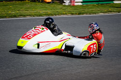John Shipley and Jon Saidi at EMRA, Mallory Park, Leicestershire, May 2018. Photo: Neil Houltby