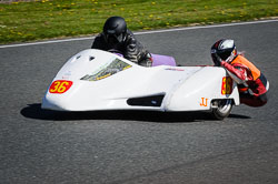 Marianne Walford at EMRA, Mallory Park, Leicestershire, May 2018. Photo: Neil Houltby