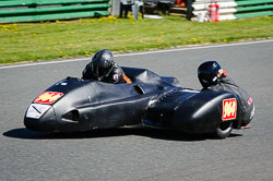 Stuart Anderson and Kerry Hughes at EMRA, Mallory Park, Leicestershire, May 2018. Photo: Neil Houltby