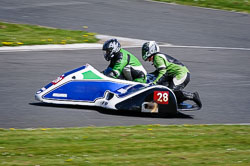 Bill Roberts and Nick Roberts at EMRA, Mallory Park, Leicestershire, May 2018. Photo: Neil Houltby
