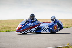 Daryl Gibson and Ashley Moore at Wirral 100, Anglesey Circuit, Anglesey, July 2018. Photo: Neil Houltby