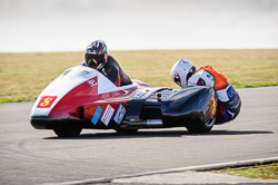 Brian Ilaria and Oily Lace at Wirral 100, Anglesey Circuit, Anglesey, July 2018. Photo: Neil Houltby