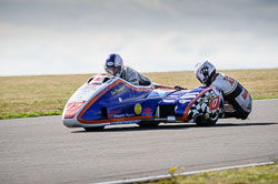 Lee Crawford and Scot Hardie at Wirral 100, Anglesey Circuit, Anglesey, July 2018. Photo: Neil Houltby