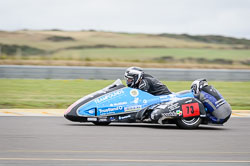 Craig Goodier and Dave Ryder at Wirral 100, Anglesey Circuit, Anglesey, July 2018. Photo: Neil Houltby