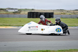 Gordon Jones and Lizzie Quinlan at Wirral 100, Anglesey Circuit, Anglesey, July 2018. Photo: Neil Houltby