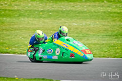 Richard Hackney and Dave Ryder at NG Road Racing, Donington Park, Leicestershire, May 2019. Photo: Neil Houltby