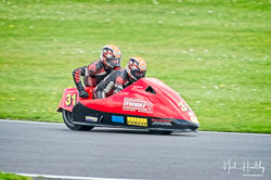 Nicholas Dukes and William Moralee at NG Road Racing, Donington Park, Leicestershire, May 2019. Photo: Neil Houltby