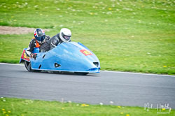 Paul Downes and David Hainsworth at NG Road Racing, Donington Park, Leicestershire, May 2019. Photo: Neil Houltby