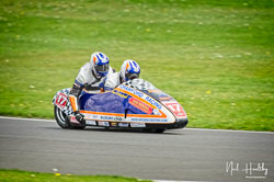 Lee Crawford and Scott Hardie at NG Road Racing, Donington Park, Leicestershire, May 2019. Photo: Neil Houltby