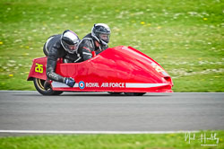 Robert Atkinson and Glen Dawson at NG Road Racing, Donington Park, Leicestershire, May 2019. Photo: Neil Houltby