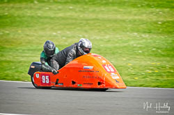 Ralph Remnant and Samantha Tilley at NG Road Racing, Donington Park, Leicestershire, May 2019. Photo: Neil Houltby