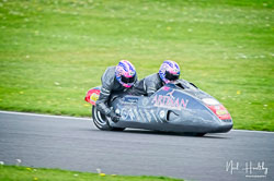 Craig Melvin and Stuart Christian at NG Road Racing, Donington Park, Leicestershire, May 2019. Photo: Neil Houltby